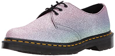 da109f9ace5b Dr. Martens Women's 1461 GLTR Fashion Boot Multi Glitter 4 Medium UK (6 US