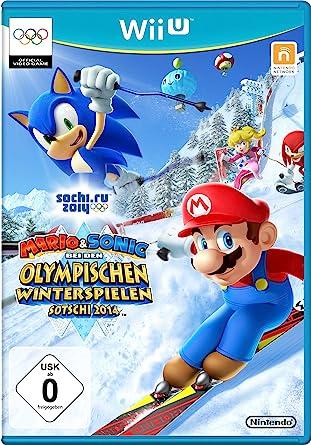 Mario Sonic Bei Den Olympischen Winterspielen Sotschi 2014