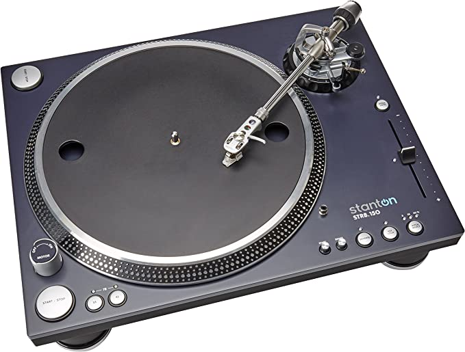 Stanton STR8150 DJ Turntable - Durable Construction and Made for Heavy Use