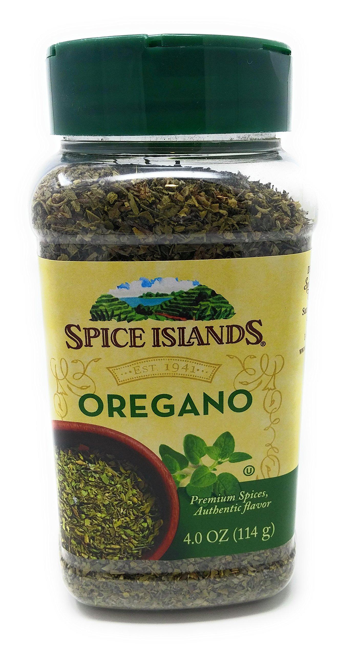 Spice Island Oregano 4 Ounce Container - Premium Spices, Authentic Flavor