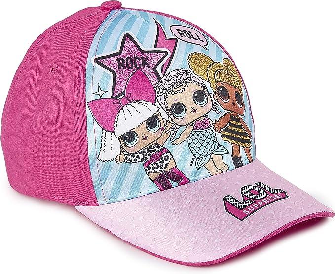 LOL Surprise Baseball Cap Girls Official Licensed Summer Adjustable Kids Sun Hat