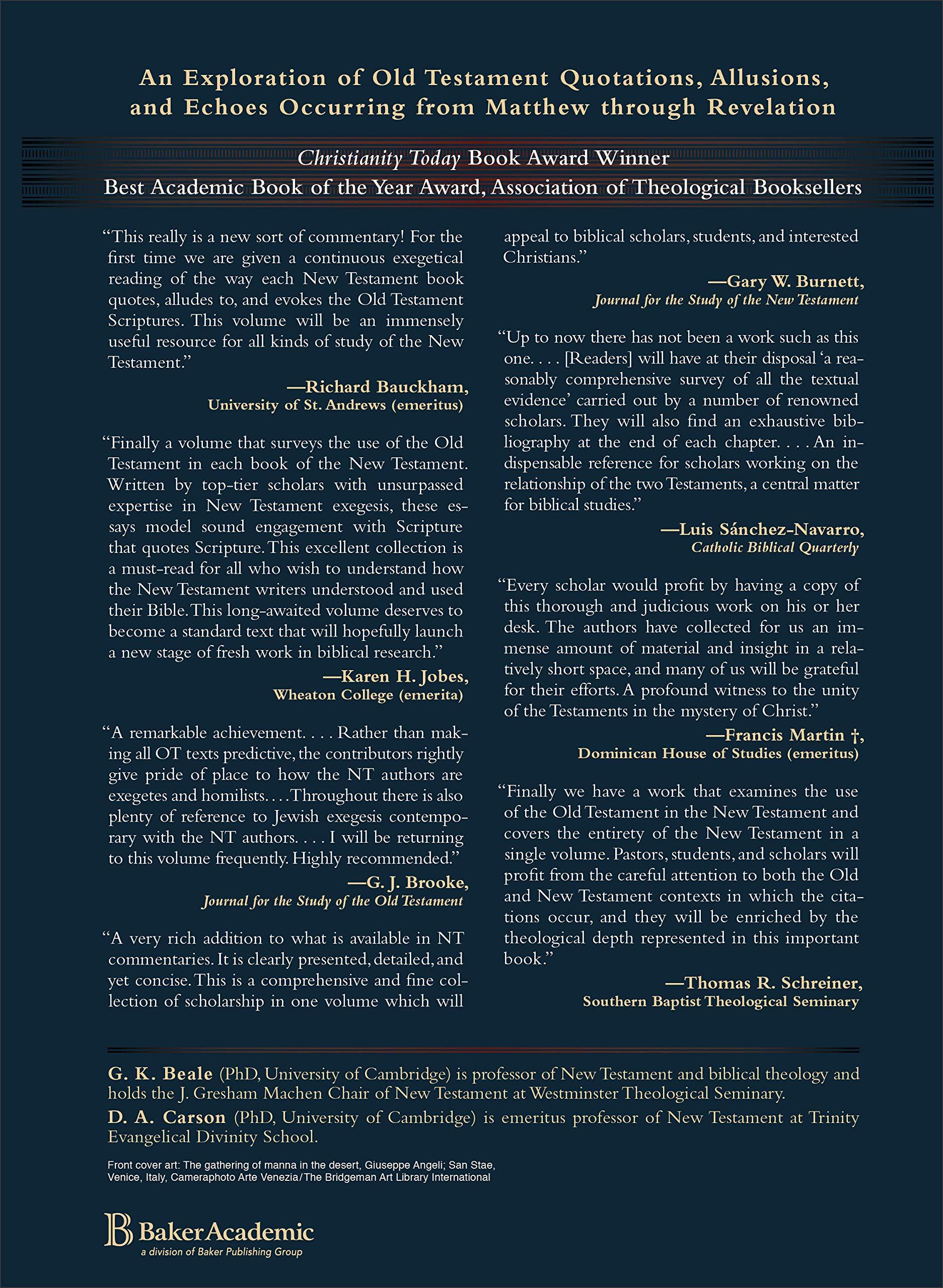 Jesus' References to Old Testament Scriptures