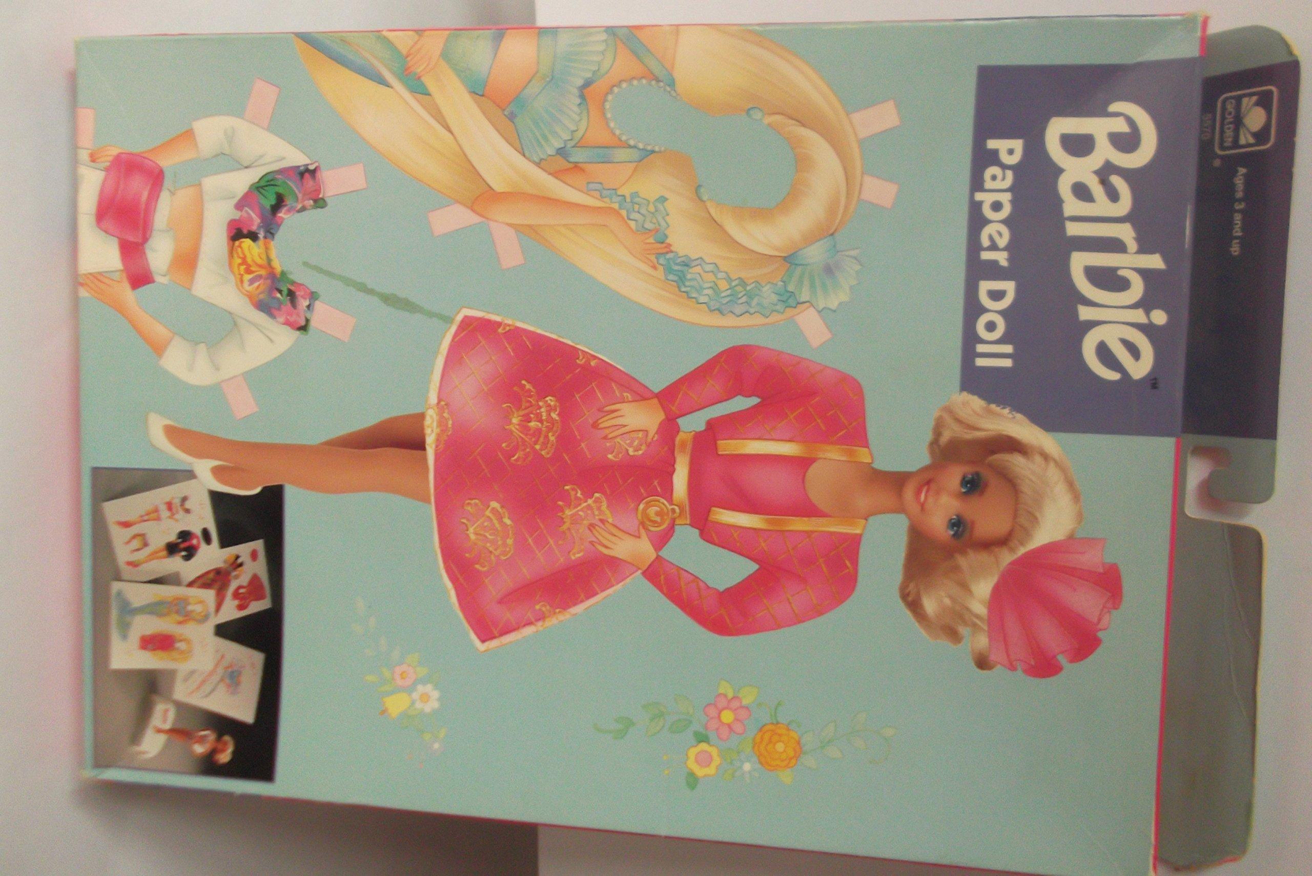 Barbie Paper Doll 1993