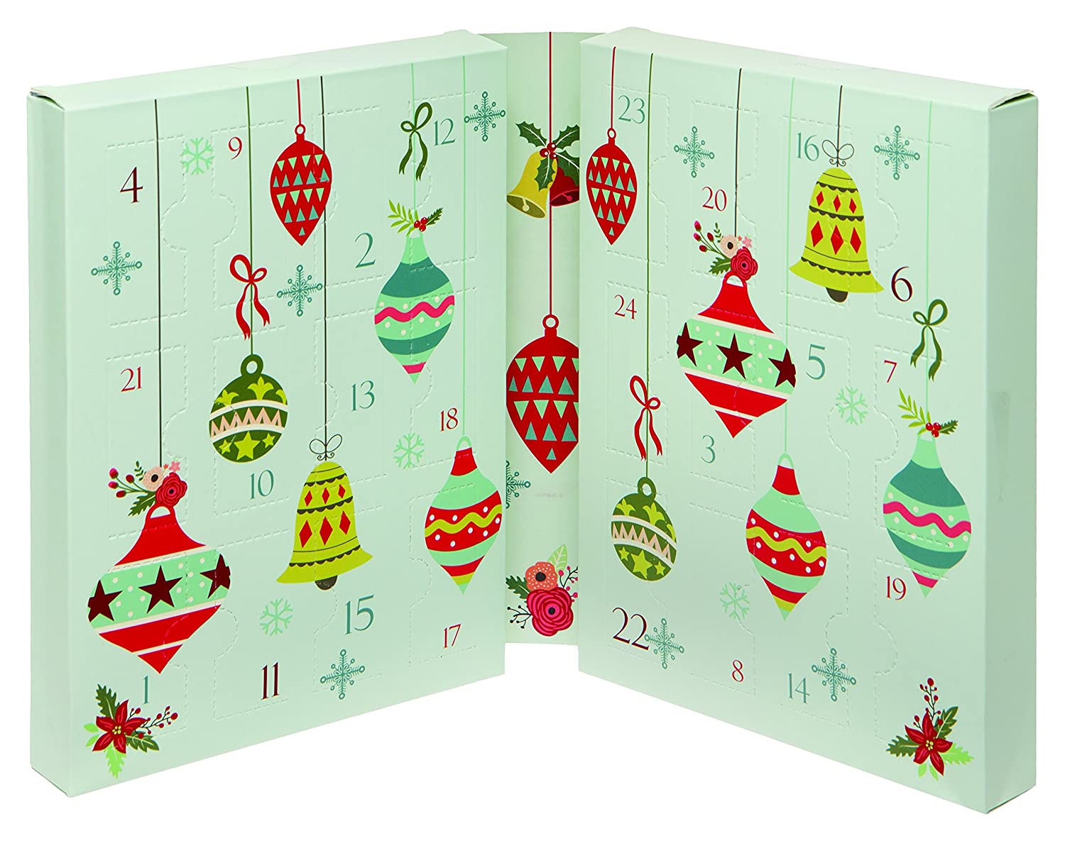 Technic Mini Nail Varnish Advent Calendar: Amazon.co.uk: Beauty