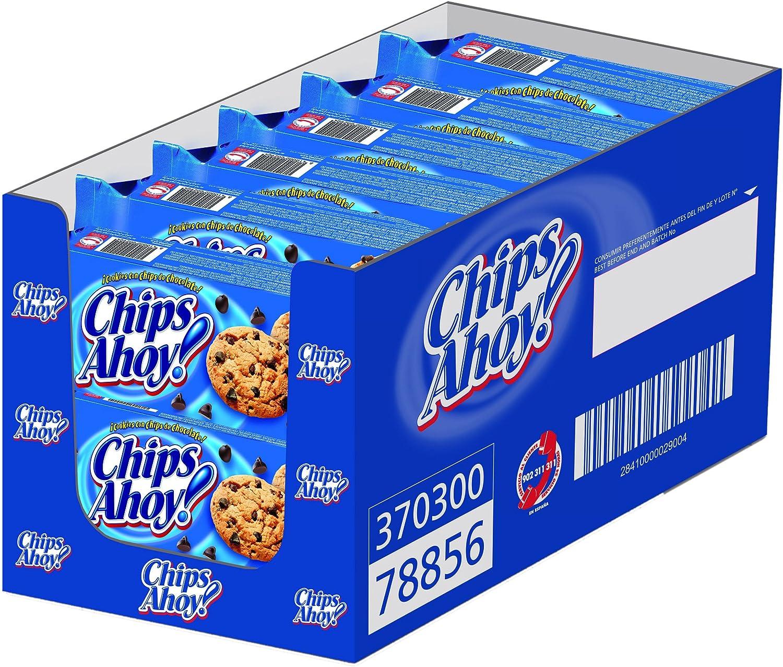 Chips Ahoy! - Cookies, Galleta con gotas de chocolate, 128 g - [pack de 4]: Amazon.es: Alimentación y bebidas