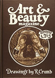 The r crumb coffee table art book kitchen sink press book for back art beauty magazine drawings by r crumb numbers 1 fandeluxe Gallery