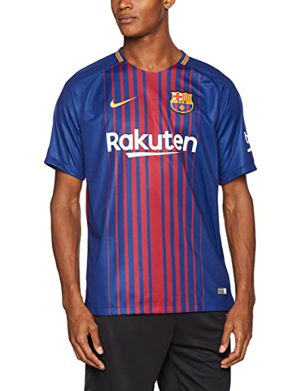 newest collection d9fd6 3172f 2017-2018 Barcelona Home Nike Football Shirt