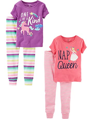 06f46b8569f Carter's Baby Girls' Toddler 2-Pack Two-Piece Cotton Pajamas