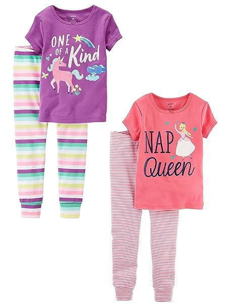 5e0cc3c38 Amazon.com  Carter s Baby Girls  Toddler 2-Pack 2 Piece Cotton ...