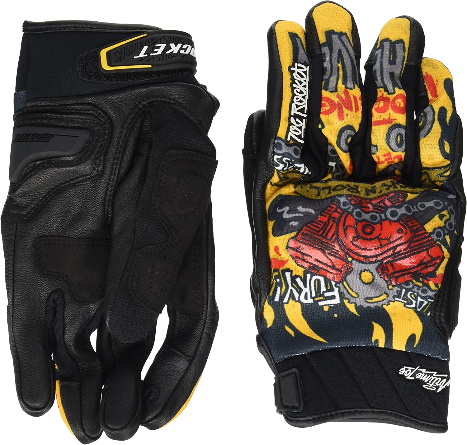 Joe Rocket Airtime Free shipping anywhere in the nation Men's Motorcycle Gloves Special Campaign Piece Maker