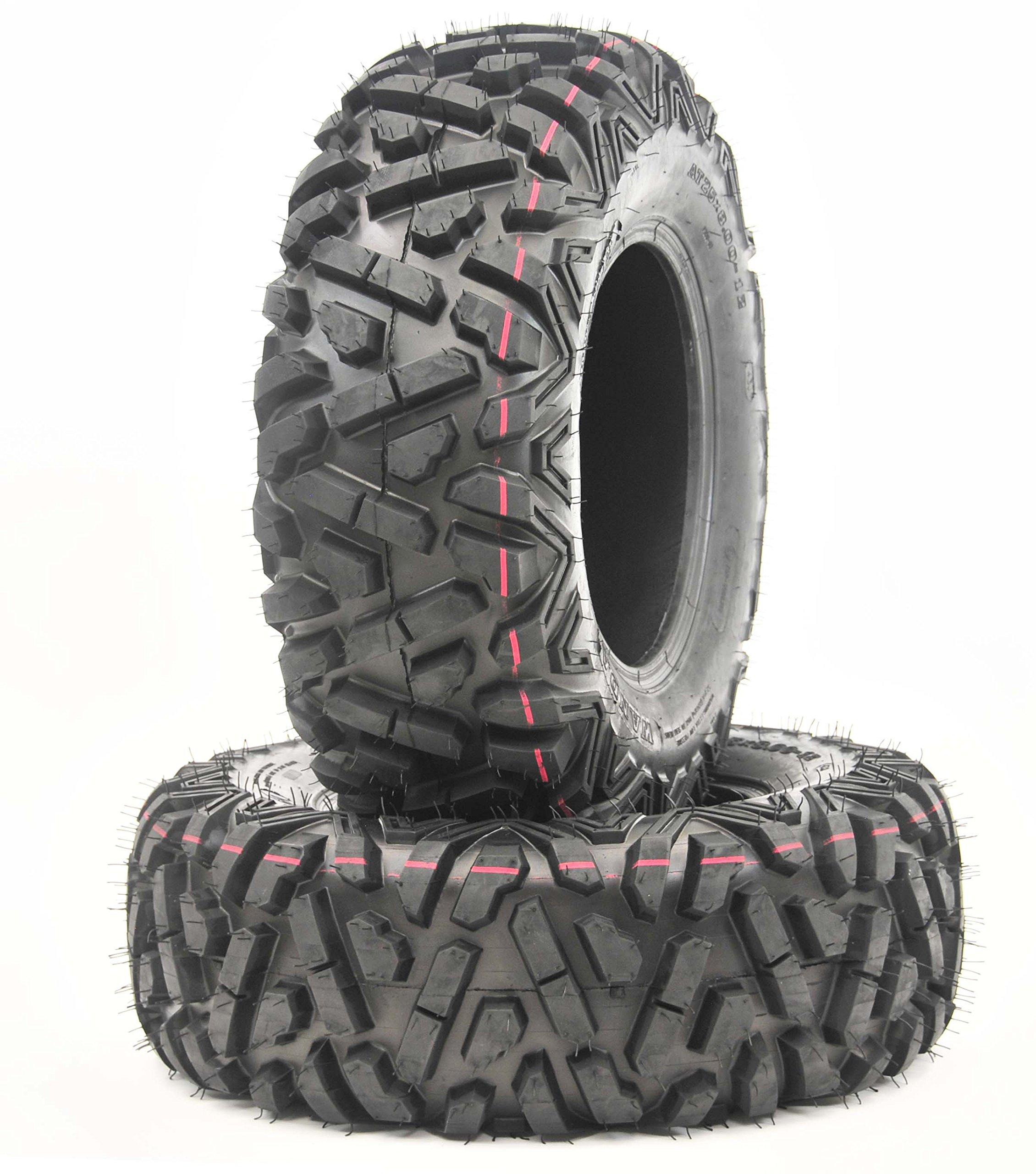 2 New WANDA ATV/UTV Tires 24X9-11 4PR P350 - 10256