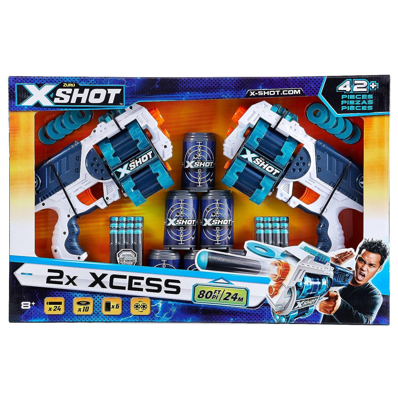 Excel Xcess TK-12 Double Pack Zuru 36259 XShot