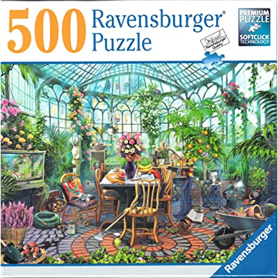 Ravensburger Greenhouse Mornings 500 Piece Puzzle: Toys & Games