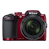 Nikon Coolpix B500 Digital Camera (Red)