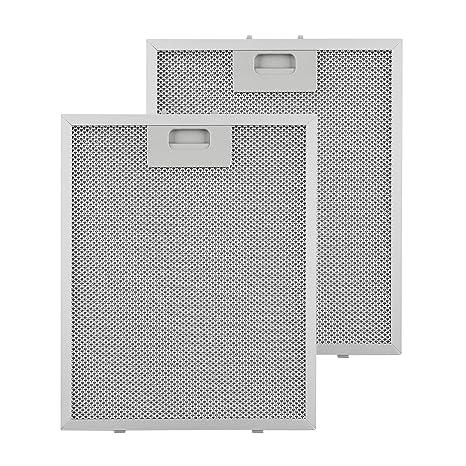 2er Pack 320 x 260mm Alu Herd Abzugshaube Lüfter Filter Für Baumatic