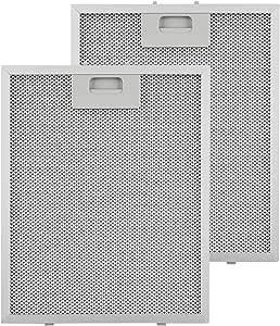 KLARSTEIN Repuesto de Filtro de Grasa de Aluminio - 25,8 x 31,8 cm, Adecuado para Campanas extractoras 10031680: Amazon.es: Hogar