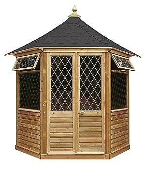 Trendig Georgian Gartenlaube (klein) Gartenhaus aus Holz günstig kaufen  MA46