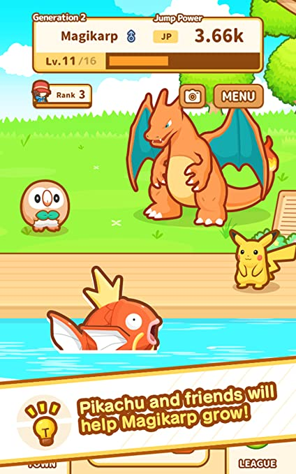 Amazon Pokémon Magikarp Jump Appstore For Android Awesome Magikarp Jump Patterns