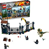 LEGO 75931 Jurassic World Dilophosaurus Outpost Attack Playset, Dinosaur Figures, Build and Play Dinosaur Toys for Kids