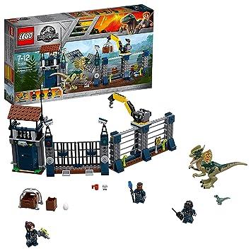 LEGO Jurassic World Ataque del Dilophosaurus 75931 Dinosaurios de ...