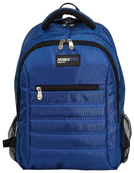 Mobile Edge Royal Blue SmartPack 16 Inch Laptop Backpack with Separate  Padded Tablet Pocket Lightweight Design for Men, Women, Students MEBPSP3