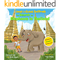 The Search for Elephants in Thailand (Jonah's Global Footprints Book 1) book cover