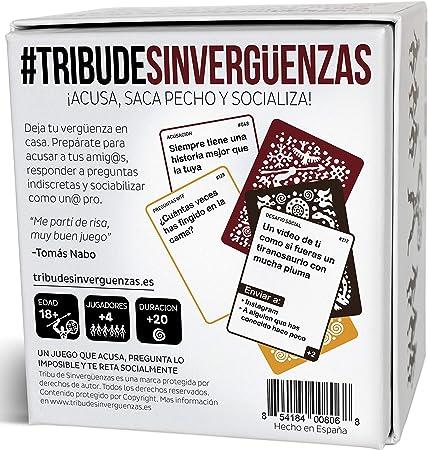 Tribu de Sinvergüenzas - El Mejor Juego de Cartas para Beber para Fiestas y Risas con amig@s - Made In Spain: Amazon.es: Juguetes y juegos