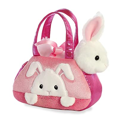 "Aurora - Pet Carrier - 7"" Peek-A-Boo Bunny: Toys & Games"