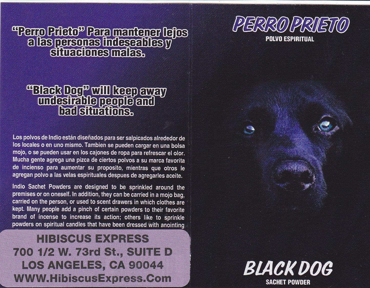 Amazon.com: POLVO PERRO PRIETO - Para matener lejos a las personas indeseables y situaciones malas ... 1/2 oz from HibiscusExpress: Posters & Prints