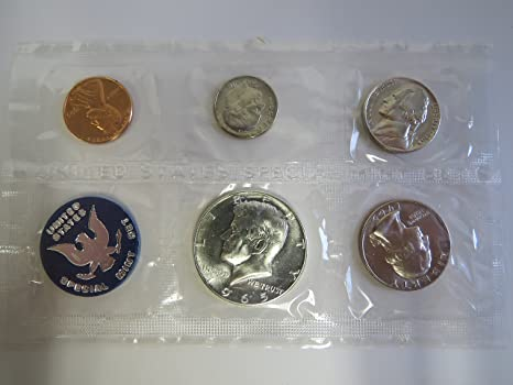 1988-P+D BRILLIANT UNCIRCULATED WASHINGTON QUARTERS SHIPS IN SEALED CELLOPHANES