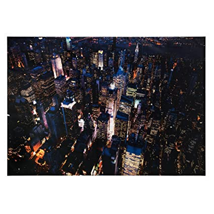 Amazon 78 x 55 in aluminum ikea premir picture city lights aluminum ikea premir picture city lights new york gumiabroncs Images