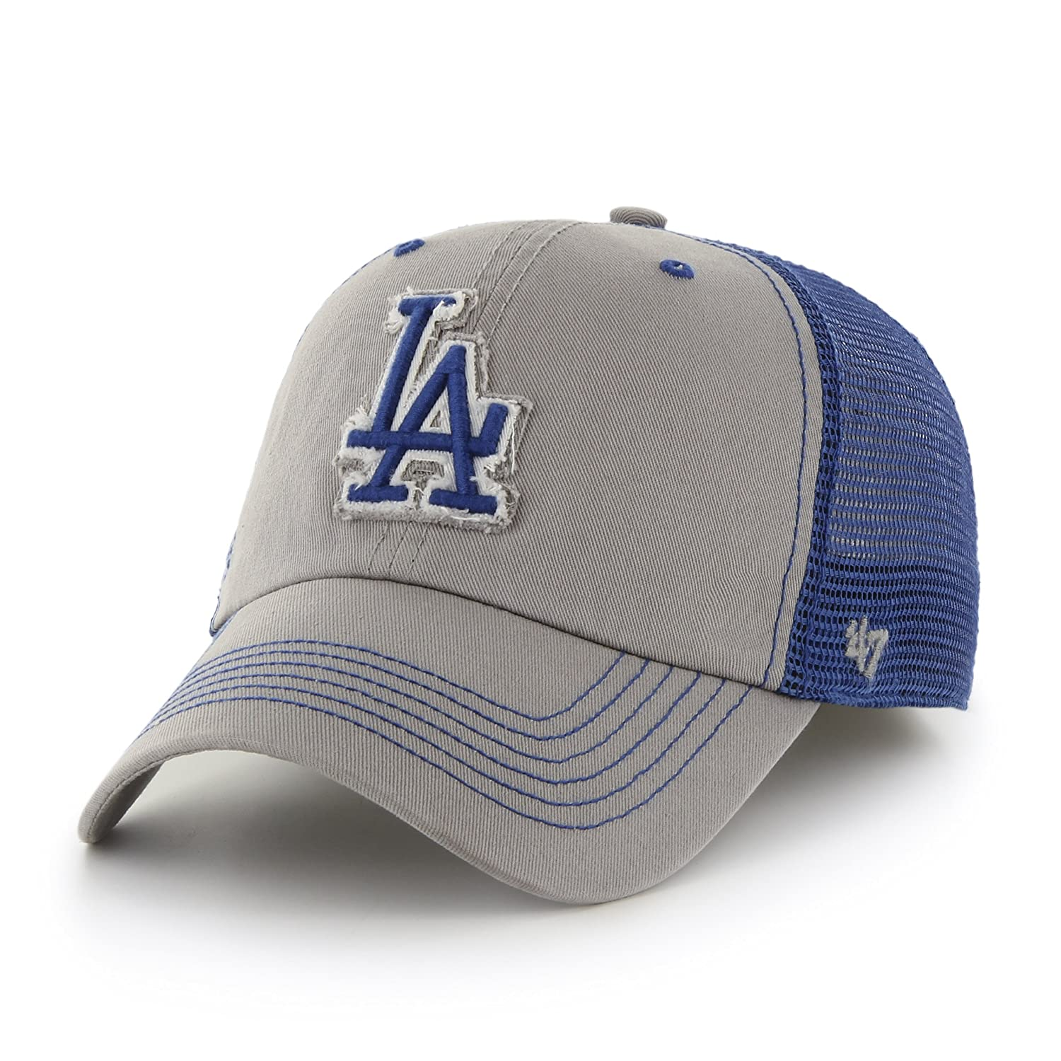 best service 3f816 f6d52 Amazon.com   MLB Kansas City Royals Taylor Closer Stretch Fit Hat, One  Size, Columbia   Sports   Outdoors