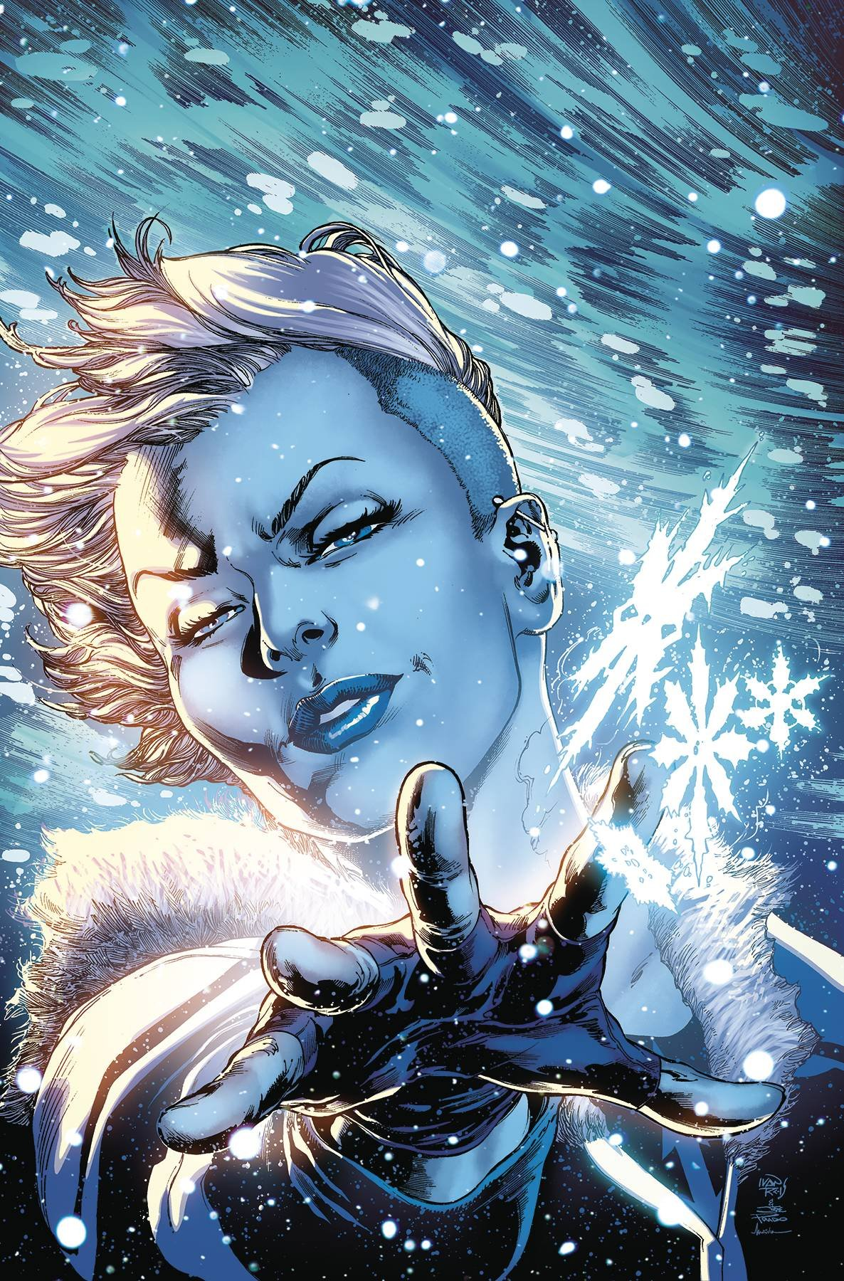 Read Online JUSTICE LEAGUE OF AMERICA KILLER FROST REBIRTH #1 pdf