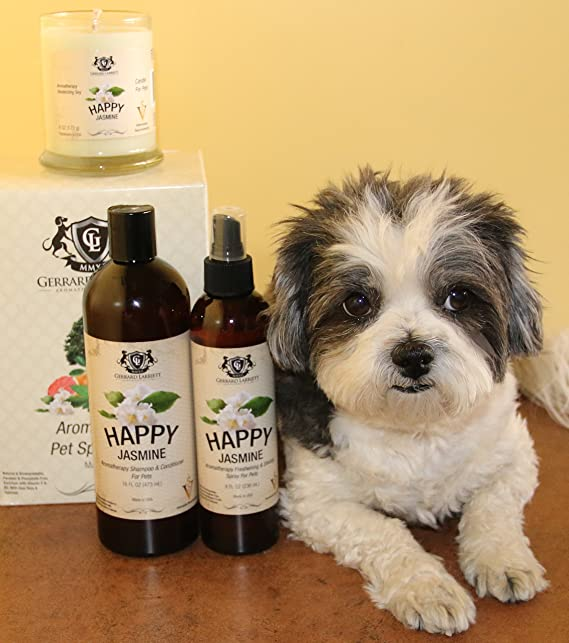 Aromatherapy Freshening and Shining Spray For Pets, Dog Grooming Spray, Dog Perfume, Dog Cologne and Pet Odor Eliminator