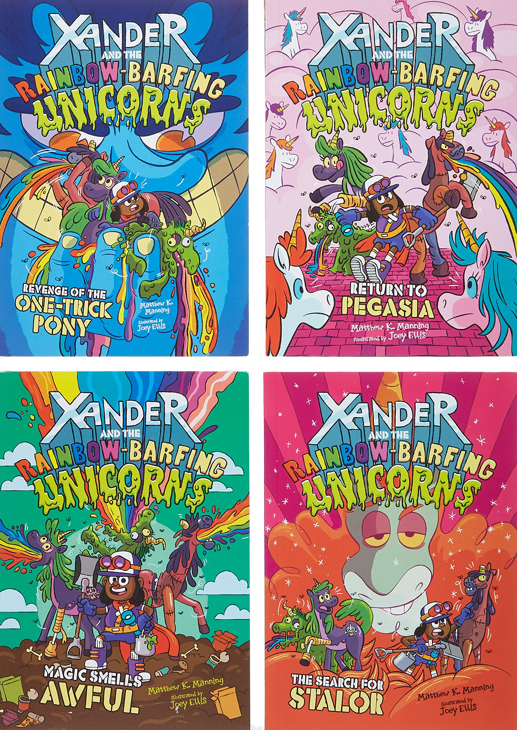 Xander and the Rainbow-Barfing Unicorns 3
