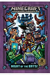 Night of the Bats! (Minecraft Woodsword Chronicles #2) (A Stepping Stone Book(TM)) Kindle Edition