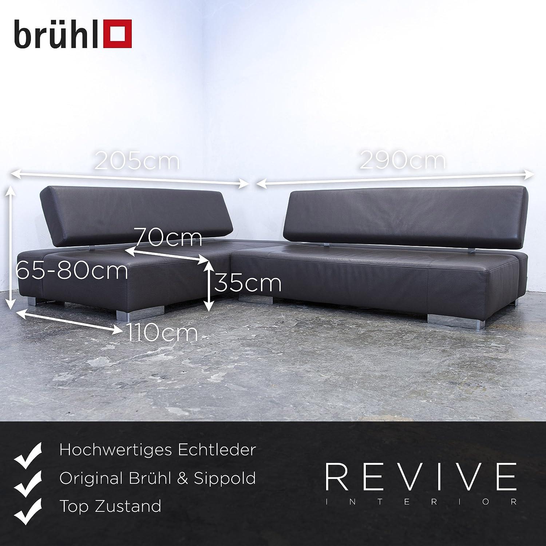 Elegant Brühl Und Sippold Galerie Von Conceptreview: Brühl & Designer Leder Ecksofa Braun