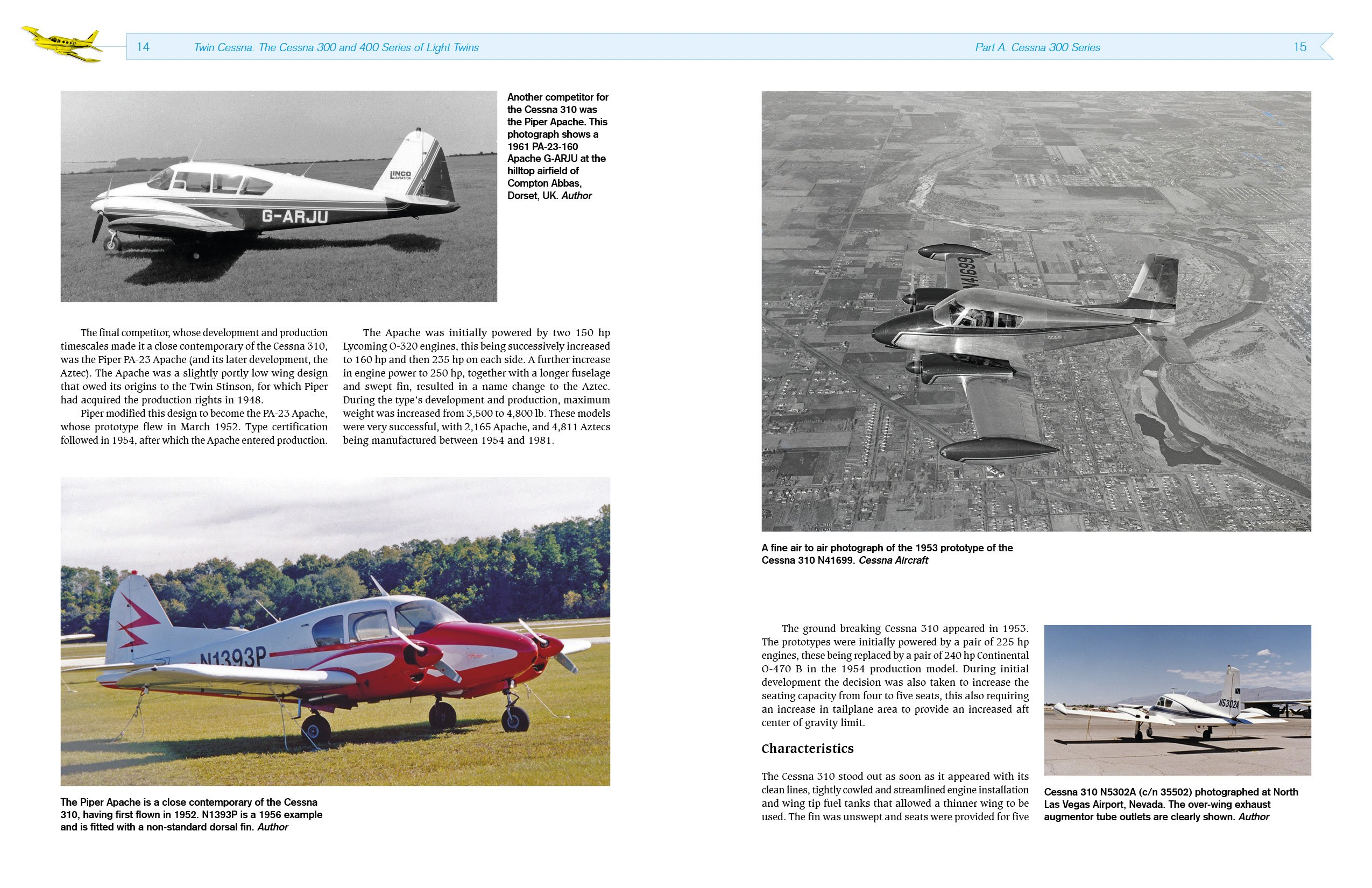Twin Cessna: The Cessna 300 and 400 Series of Light Twins: Amazon co