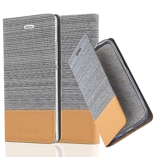 9 opinioni per Cadorabo- Custodia Book Style per Huawei P8 Design Tessuto- Similpelle con