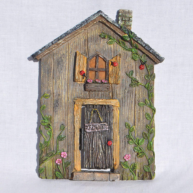Miniature Fairy Garden Ladybug Fairy Door