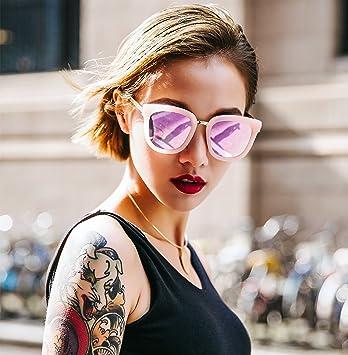 VVIIYJ Box Gafas de Sol para Mujer Gafas de Sol de Cara ...