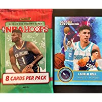 $25 » 2019-20 Panini NBA HOOPS WInter Parallel Factory Sealed Basketball Card PACK w/8…