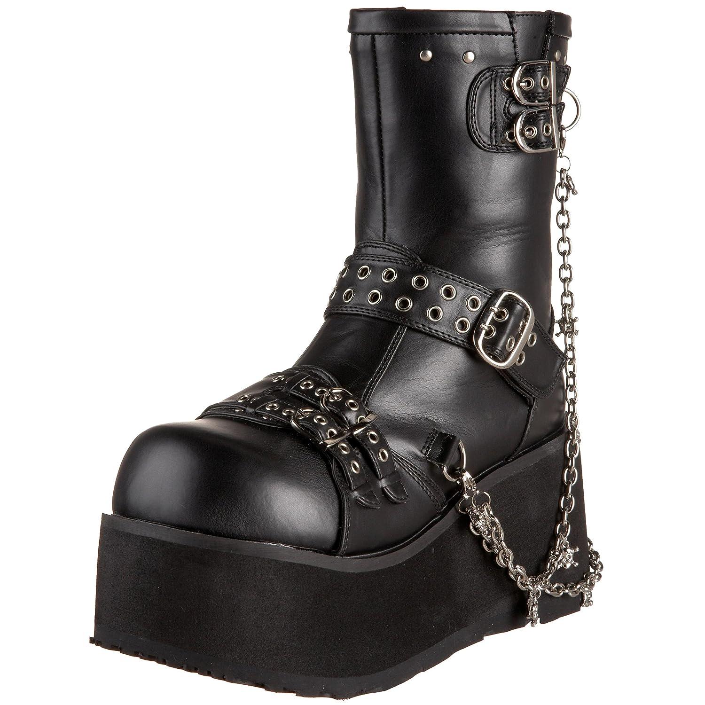 Demonia Clash-430 - Botas Mujer37 EU|Negro (Negro (Blk Vegan Leather))