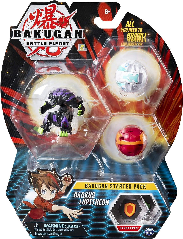 Spin Master Bakugan Starter Pack - Pack Darkus Lupitheon: Amazon ...