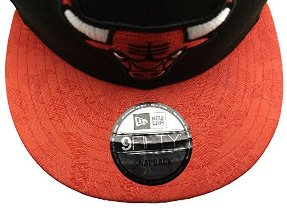 more photos 30753 2d170 ... low price amazon new era officially licensed nba chicago bulls mark  mixer 9fifty snapback hat clothing