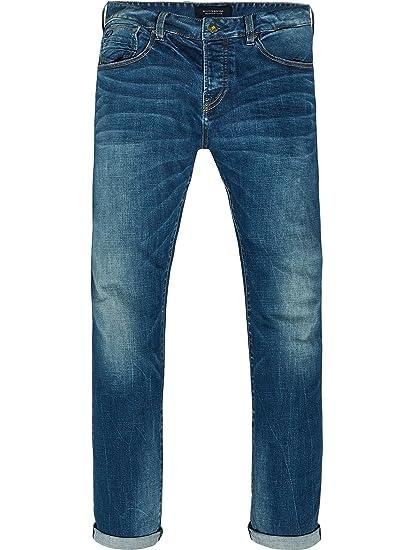 23499f5f7 Scotch & Soda Men's's Vernon - Kimono Yes Straight Jeans: Amazon.co.uk:  Clothing