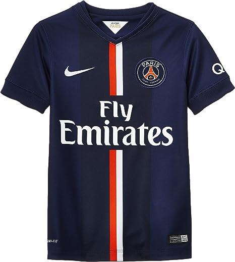 Nike - Camiseta Junior 1ª equipación Paris Saint-Germain Stadium ...