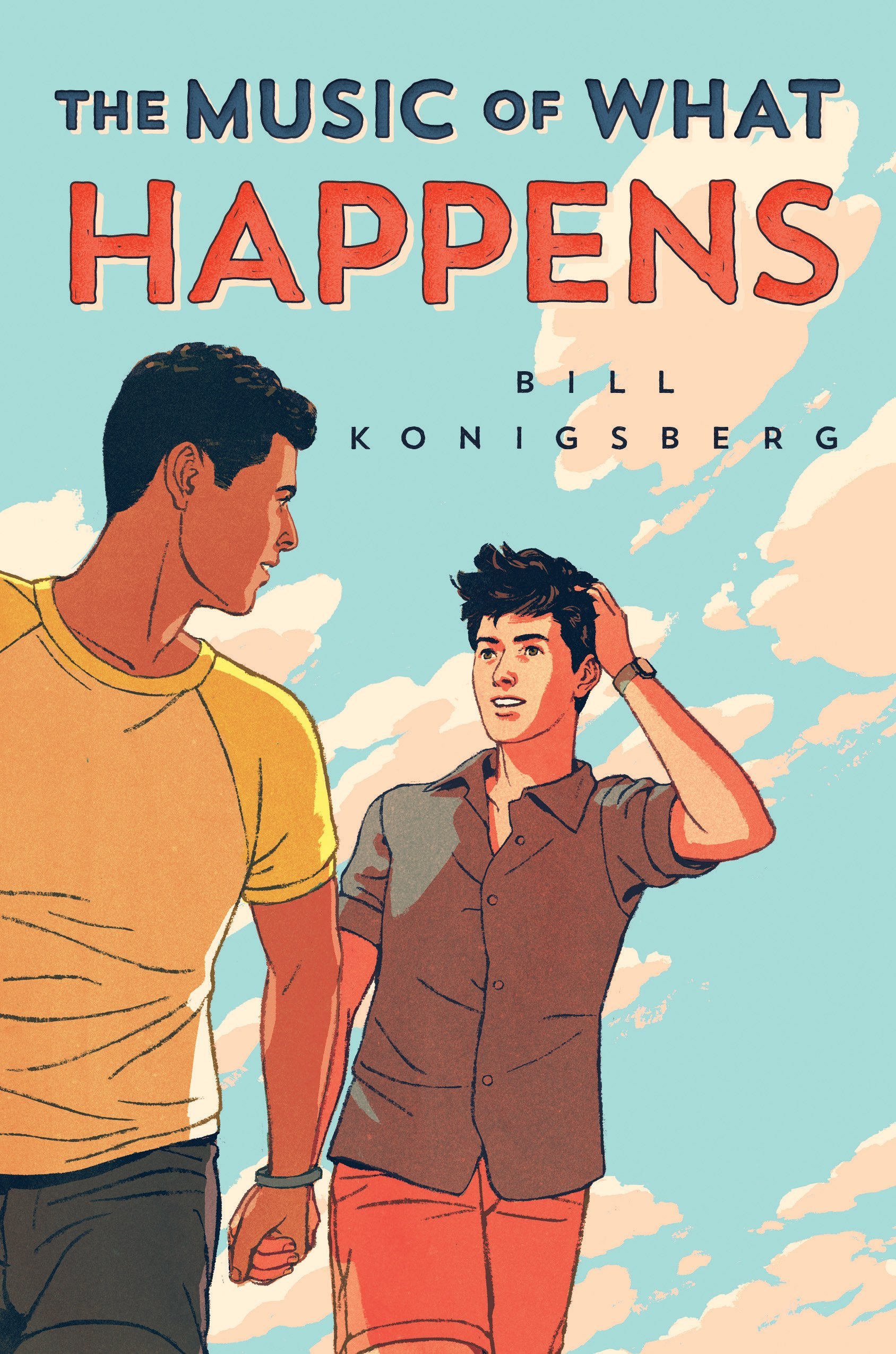 Image result for The Music of What Happens by Bill Konigsberg