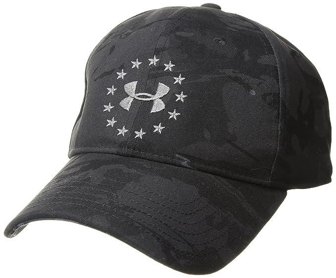 Amazon com: Under Armour Men's Freedom 2 0 Cap, Black (001