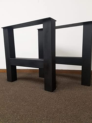 Elegant Metal Table Legs, H Frame Style   Any Size And Color!